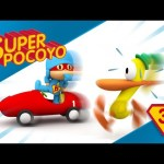 Super Pocoyo helps us to stay in shape