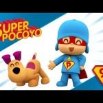 Super Pocoyo takes care of his pet, follow his lead!