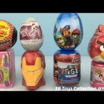 Surprise Collection Iron Man Disney Princess Inside Out Angry Birds Shopkins Chupa Chups Paw Patrol