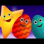 Surprise Eggs Nursery Rhymes Toys   Twinkle Twinkle Little Star   Learn Colours   ChuChu TV