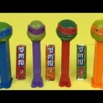 Teenage Mutant Ninja Turtles TMNT Pez Dispensers Candy set Leonardo, Donatello, Raphael, Michelangel