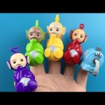 Teletubbies Finger Family Nursery Rhymes For Children With Tinky Winky Dipsy Laa-Laa Po Noo-noo