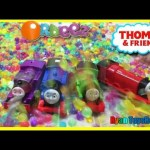 THOMAS AND FRIENDS Accidents will Happen in 1 million+ Orbeez Bath Explosion Ryan ToysReview
