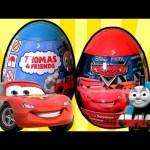 Thomas & Friends Surprise Eggs Holiday Edition Cars Surprise Easter Eggs Disney Pixar