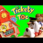 Tickety Toc Clockhouse Track Playset Tommy, Tallulah, Pufferty Unboxing Review by toysCollector