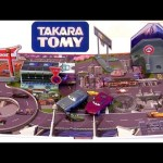 Tomica Cars 2 play map Japan Circuit from Disney Pixar Takaratomy toys w/ Ramone