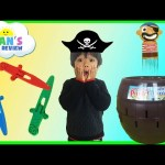 Tomy Toys Super Pop Up Pirate Family Fun Game for Kids Egg Surprise Toys Ryan ToysReview