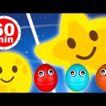 Twinkle Twinkle Little Star and more Children's Songs Nursery Rhymes 1 Hour Compilation for Kids