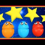 Twinkle Twinkle Little Star | Surprise Eggs Nursery Rhymes | Lullaby Song for Kids Baby Toddler