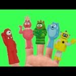 Yo Gabba Gabba! Finger Family Nursery Rhymes