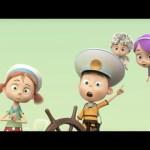 Мультфильм Ангелы Бэби – Опасное плавание (6 серия) Премьера мультфильма!