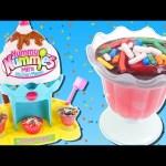 Yummy Nummies Mini Sundae Maker | Making Ice Cream Flavored Sweet Treats with DCTC