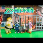ZOOTOPIA Disney  Zootopia Officer Hopps  Surprise Zootopia Characters Video Toy Unboxing