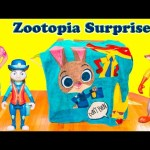 ZOOTOPIA SURPRISE Disney Zootopia + Lion Guard + Paw Patrol + Mickey Mouse Surprise Video