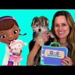 Zumi gets a Check-Up with Disney Junior's Doc McStuffins Pet Vet Doctor's Bag Toy Set