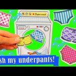 WASH MY UNDERPANTS Fun Kids Board Game Challenge + EggDrop Surprise Toys for Family Game Night