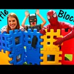 LITTLE TIKES Giant Waffle Blocks Surprise Toys with Huge Block House, Boxes & Cubes by DisneyCarToys