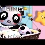 Rock A Bye Baby | Plus Lots More Nursery Rhymes | From LittleBabyBum!