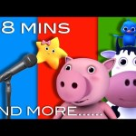 Nursery Rhymes Collection: Karaoke versions! | From LittleBabyBum!