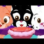 Three Little Kittens | Popular Nursery Rhymes From Kids TV