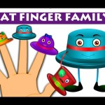 Hat Finger Family | Robot Finger Family And Many More