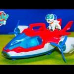 PAW PATROL Nickelodeon Paw Patrol Air Patroller Toys Video Unboxing