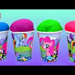 My Little Pony Play-Doh surprise cups Inside Out Peppa Pig  Hello Kitty Mickey Mouse Frozen Toys