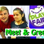 DisneyCarToys Spidey Awesome Meet & Greet at Play Fair Toy Fair + Spiderman Gives Shopkins Toys