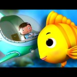 A Sailor Went To Sea | Nursery Rhymes | by LittleBabyBum!