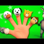 Finger Family | Animal Sound Song | 3D Rhymes From Kids TV