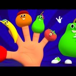 Finger Family Fruits | Nursery Rhymes From Kids Tv