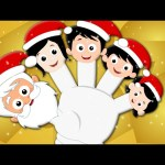 Santa Claus Finger Family | Christmas Carol From Kids Tv