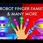 Robot Finger Family And Many More – Nursery Rhymes For Children