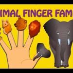 Animal Finger Family – Nursery Rhymes For Children