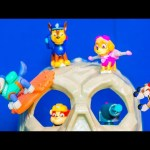 Paw Patrol Nickelodeon Paw Patrol Chase and Rubble Challenge a Paw Patrol Video Parody