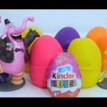 Play Doh kinderSurprise egg Disney Pixar Inside Out Divertida-Mente