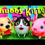 Chubby Puppies KITTY!!!!! NEW 2016 Chubby Puppy Friends Cat & Bunny Toys & Dog Park by DisneyCarToys