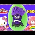 Huge Purple Minion MINIONS Play Doh Surprise Egg | Despicable Me Toys Juguetes Huevos Sorpresa