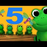 Five Little Speckled Frogs | Nursery Rhymes | from LittleBabyBum!