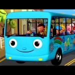 Wheels On The Bus | Part 4 | Nursery Rhymes | from LittleBabyBum!