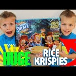 World's Largest Rice Krispie Treat: Halloween Edition