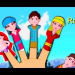 Палец семьи рифмы России | Russian Finger Family Nursery Rhyme