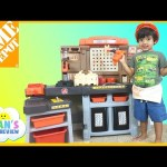 The Home Depot Pro Play Workshop and Utility Bench Step 2 Toys For Kids Ryan ToysReview