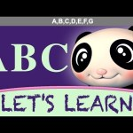 "Let's Learn ""The ABC Song"" (Zed version)! With LittleBabyBum!"