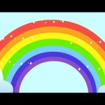 Rainbow Song – Animated Learning Song For Children