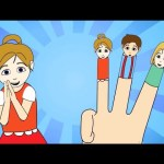 The Finger Family (New) Nursery Rhyme | Cartoon Animation Songs For Children