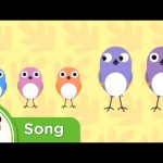 Five Little Sparrows | Original Nursery Rhyme from Treetop Family | Super Simple Songs