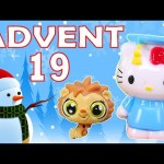 Toy Advent Calendar Day 19 – – Shopkins LEGO Friends Play Doh Minions My Little Pony Disney Princess