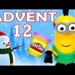 Toy Advent Calendar Day 12 – – Shopkins LEGO Friends Play Doh Minions My Little Pony Disney Princess