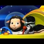 Baa Baa Black Sheep | Part 1 | Nursery Rhymes | by LittleBabyBum!